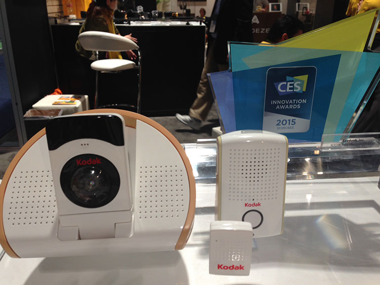 Kodak Baby Monitor at CES 2015