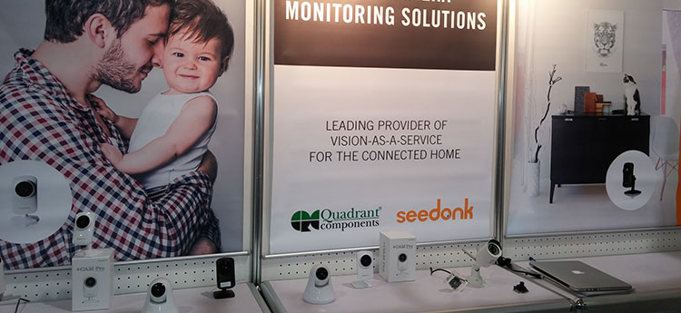 Seedonk booth at CES2015